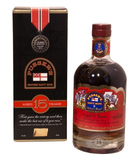 Pussers Navy Rum 15 Jahre Nelsons Blood