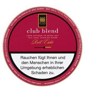 Mac Baren Club Blend Roll Cake