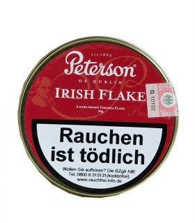 Peterson Irish Flake Pfeifentabak