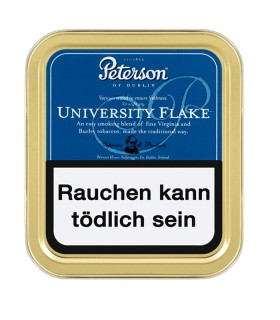 Peterson University Flake Pfeifentabak