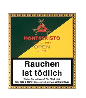 Montecristo Open Club 20er