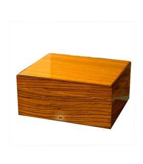 Humidor Savoy by Ashton Zebrawood Small