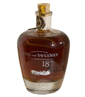 Kirk and Sweeney Dominican Rum 18 Years old