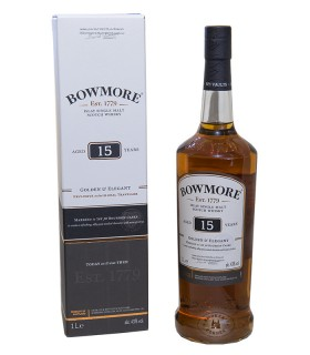 Bowmore 15 Jahre Golden and Elegant