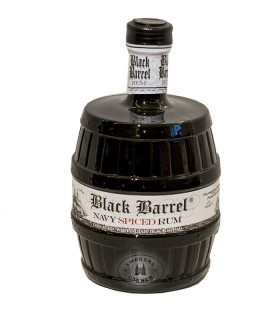 AH Riise Black Barrel Navy Spiced Rum