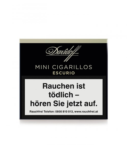 Davidoff Mini Cigarillos Escurio
