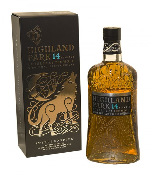 Highland Park 14 Jahre Loyality of the Wolf