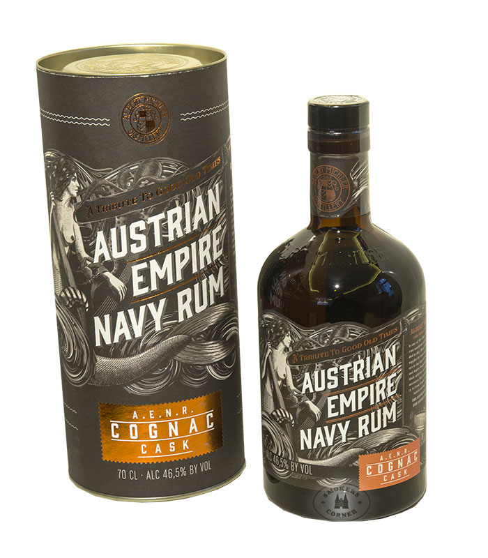 Austrian Empire Navy Rum Cognac Cask Finish 46,5 % Vol